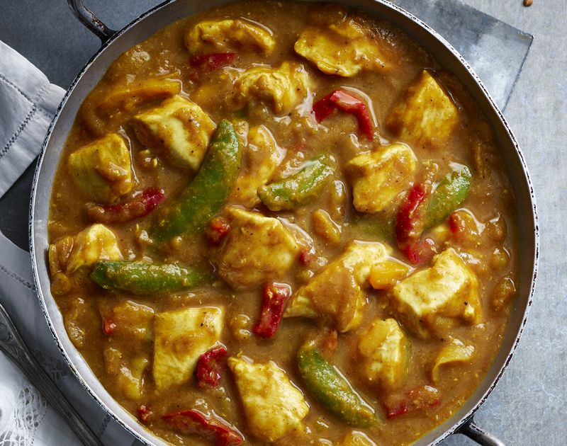 Chinese Style Chicken Curry