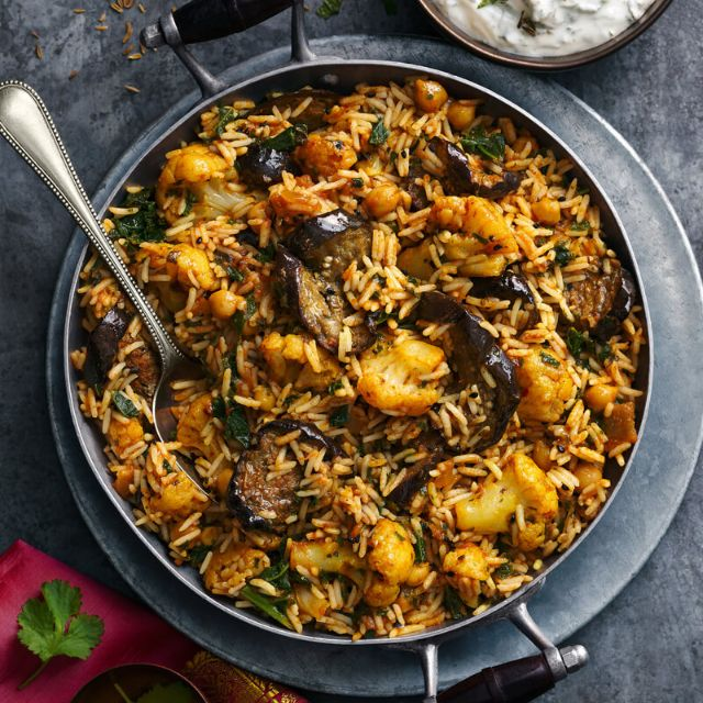 Vegetable Biryani Slimming World