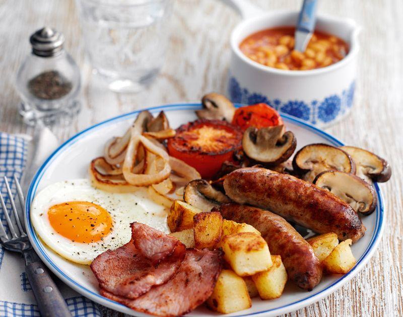 Classic big breakfast