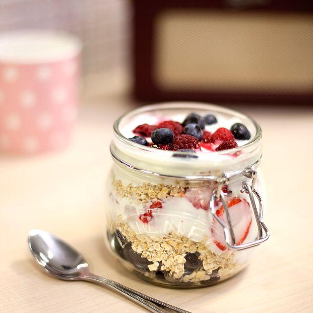overnight oats recept yoghurt