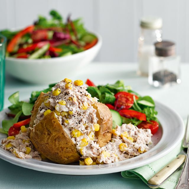 Tuna And Sweetcorn Jacket Potato