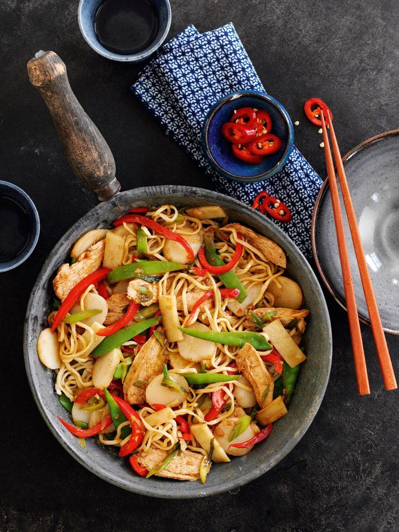 Chinese chicken chowmein