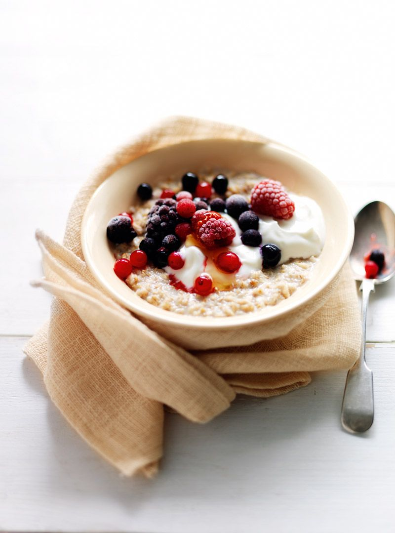 Mixed berry porridge