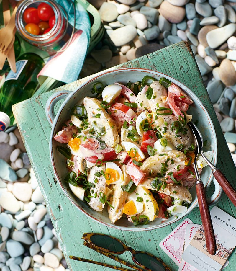 Rustic potato salad